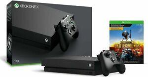 NEW Xbox One X 1TB 4K PlayerUnknown'