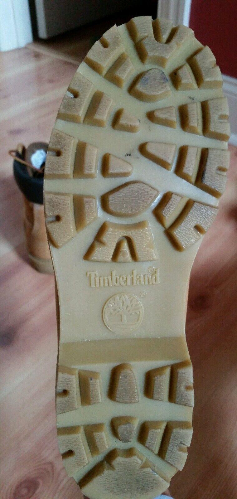 Damenschuhe TIBERLAND WHEAT LEATHER 6 INCH Stiefel WATERPROOF  Stiefel INCH SIZE 7.5 M STYLE 10317 149684