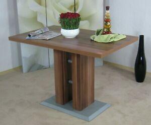 Säulentisch weiss 110 x 70 cm Esstisch Esszimmertisch Tisch Esszimmer Küche neu
