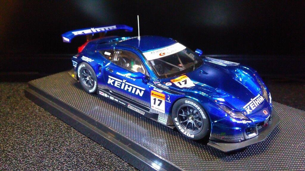 1 43 Honda HSV-010 Super  17 KEIHIN Super GT500 2010 Ebbro 44330