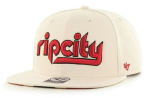 PORTLAND-TRAIL-BLAZERS-NBA-OFF-WHITE-SNAPBACK-RIP-CITY-EDITION-CAP-HAT-NEW-039-47