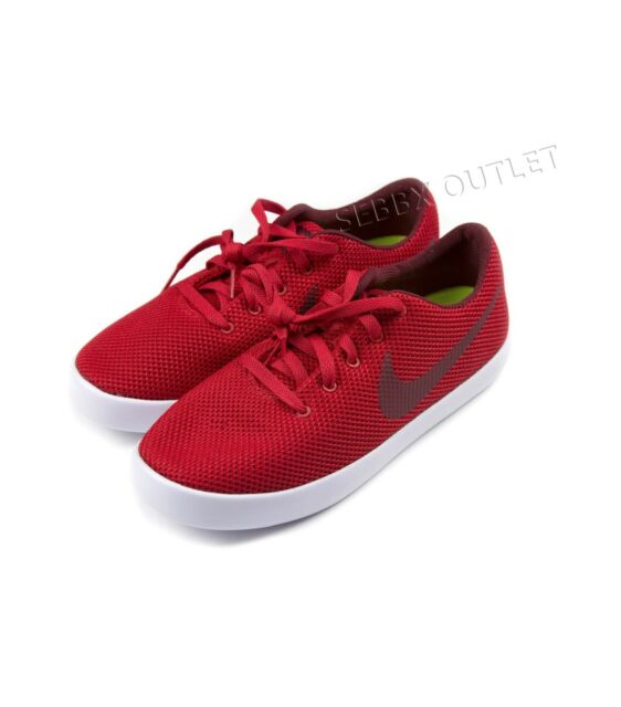 4a5678725ff9e Mens Nike Essentialist University Red SNEAKERS Size 8