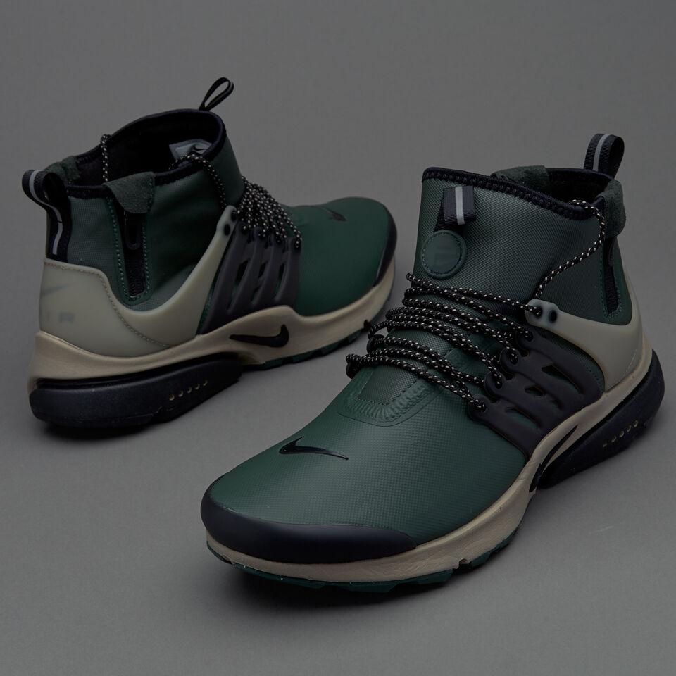 Nike Air Presto Mid Utility Black Green NSW Size 13. 859524-300 max 1 90 95