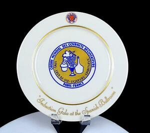 HOMER-LAUGHLIN-CHAINE-DES-ROTISSEURS-FAIRMONT-OLYMPIC-11-034-COLLECTOR-PLATE-2005