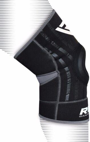 RDX Tutore Ginocchio Support Fascia Ginocchiere MMA Fitness Protezione IT