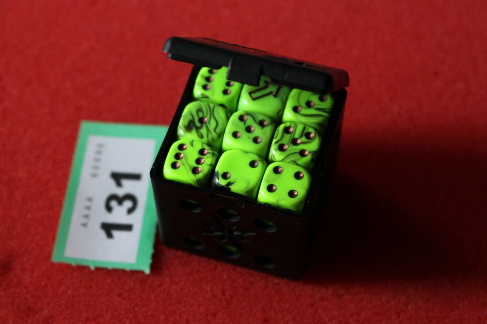 Games Workshop WARHAMMER 40k chaos space marines Nurgle DICE CUBE Death guard