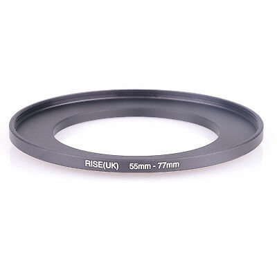 55mm to 77mm 55-77mm 55mm-77mm 55-77 Stepping Step Up Filter Ring Adapter