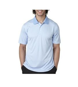 0003cfe359c UltraClub Men s Cool   Dry Elite 8300 Jacquard Performance Golf Polo ...