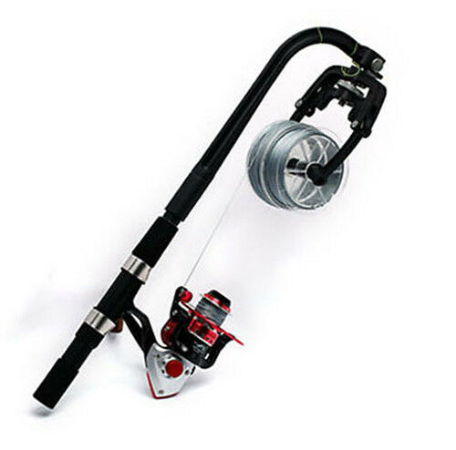 Fishing Line Spooler System for Spinning or Overhead Reels Fishing Reel Line