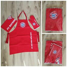 Grillset Grillschürze Kochschürze Trikot Design 2020 FC Bayern München NEU!OVP!