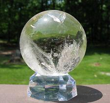 Quartz Sphere / Crystal Ball with Rainbow