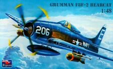 Grumman f8f-2b BEARCAT (U.S. NAVY marcature) 1/48 SIGNUM RARA!!!