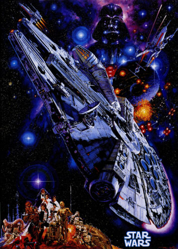 Star Wars vintage movie poster print #9