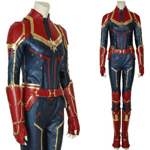 Captain Marvel Costume Carol Danvers Cosplay Costume Halloween Women Costume Ebay A wide variety of captain marvel costume options are available to you, such as supply type, costumes type, and holiday. details about captain marvel costume carol danvers cosplay costume halloween women costume