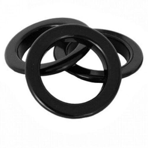 Circular Aros para Cortina Arte Zmeye Elegir Color /& Cantidad Ojales Anillos