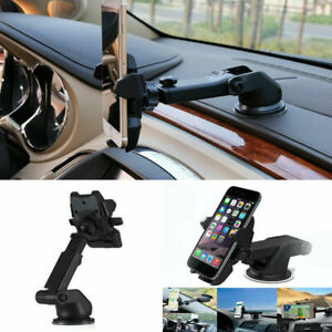 360-Rotate-Universal-Car-Phone-Holder-Windscreen-Suction-Mount-GPS-Stand-Cradle