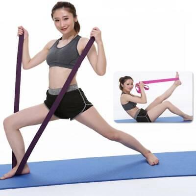 Yoga Stretching Strap Rehabilitation Training Belt Fitness Exercise Band Tools