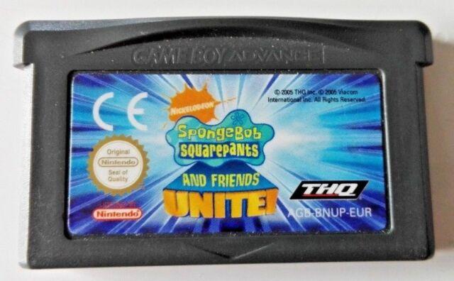Bob L'Eponge / SpongeBob Squarepants And Friends Unite ! Game Boy Advance GBA