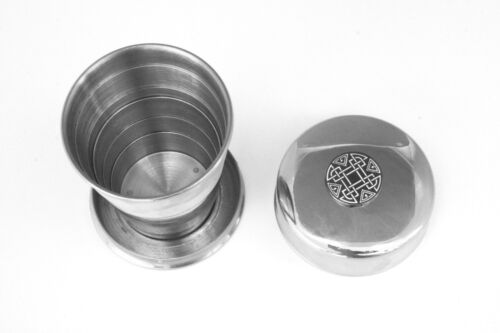 Celtic Knot Collapsible Cup Folding Shot Cup Gift 68