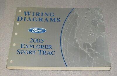 2005 Ford Explorer Sport Trac Wiring Diagram Service ...