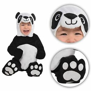 4aa15baedb2e 0-24 mesi bambini Panda Costume Bambino Neonato ANIMALE GIUNGLA ...