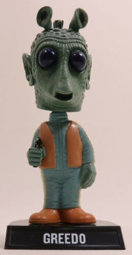 Star Wars GREEDO Bounty Hunter Bobble Head - Wobbler Bobble - Funko 2008