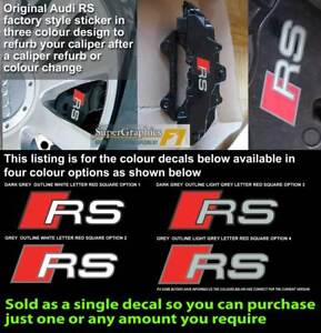 Audi-RS-Brake-caliper-decal-sticker-fit-RS-style-caliper-4-Options-to-choose
