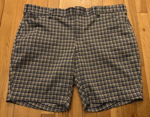 Vintage Tailored Double Knit Shorts, Size 42. - image 1