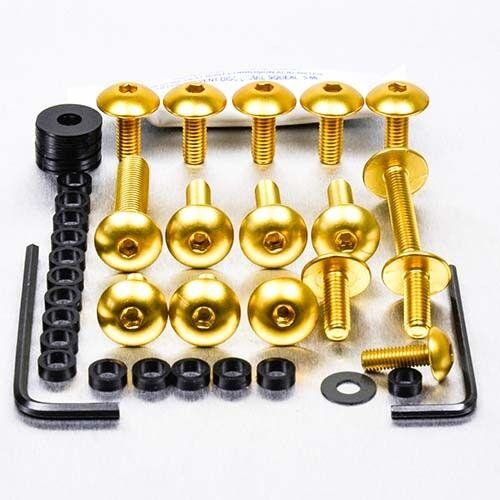 Gold FHO015G Honda NSR125R 94-03 Pro-Bolt Aluminium Fairing Bolt Kit