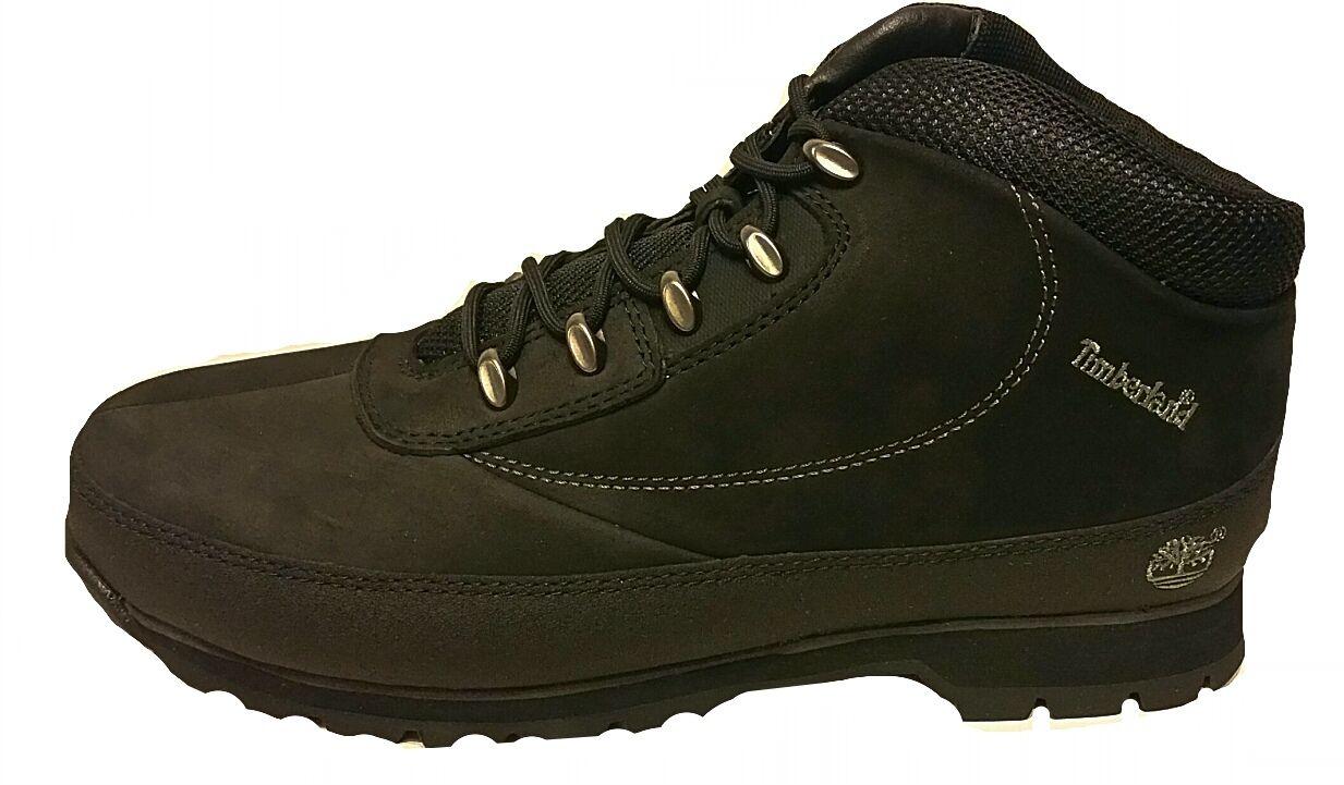 Timberland Mens EUROBROOK schwarz 6705a Nubuck Leather UK 6.5-12.5 NEW BOXED     Rich-pünktliche Lieferung