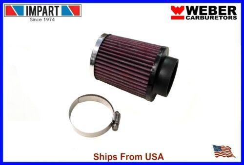 """Weber Redline Air Filter Kit 34 ICT 4/"""" x 3 1//4/"""" Chrome Top 99317.411"""