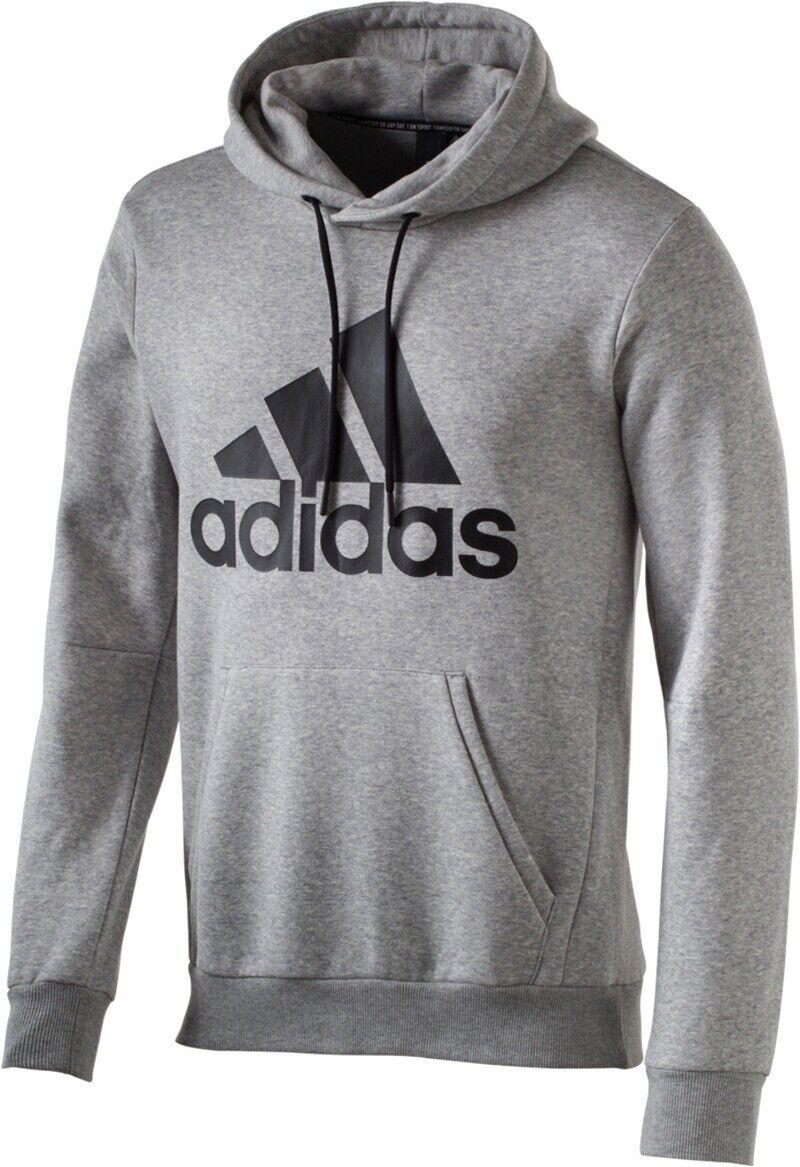Adidas Herren Hoodie MH Bos (DT9946) grau meliert, Gr. M-XXL    NEU