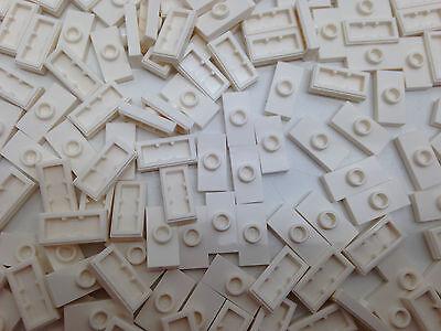 6092583 1 noppe giallo NUOVO 10 pezzi LEGO piastra di pietra 1x2 15573