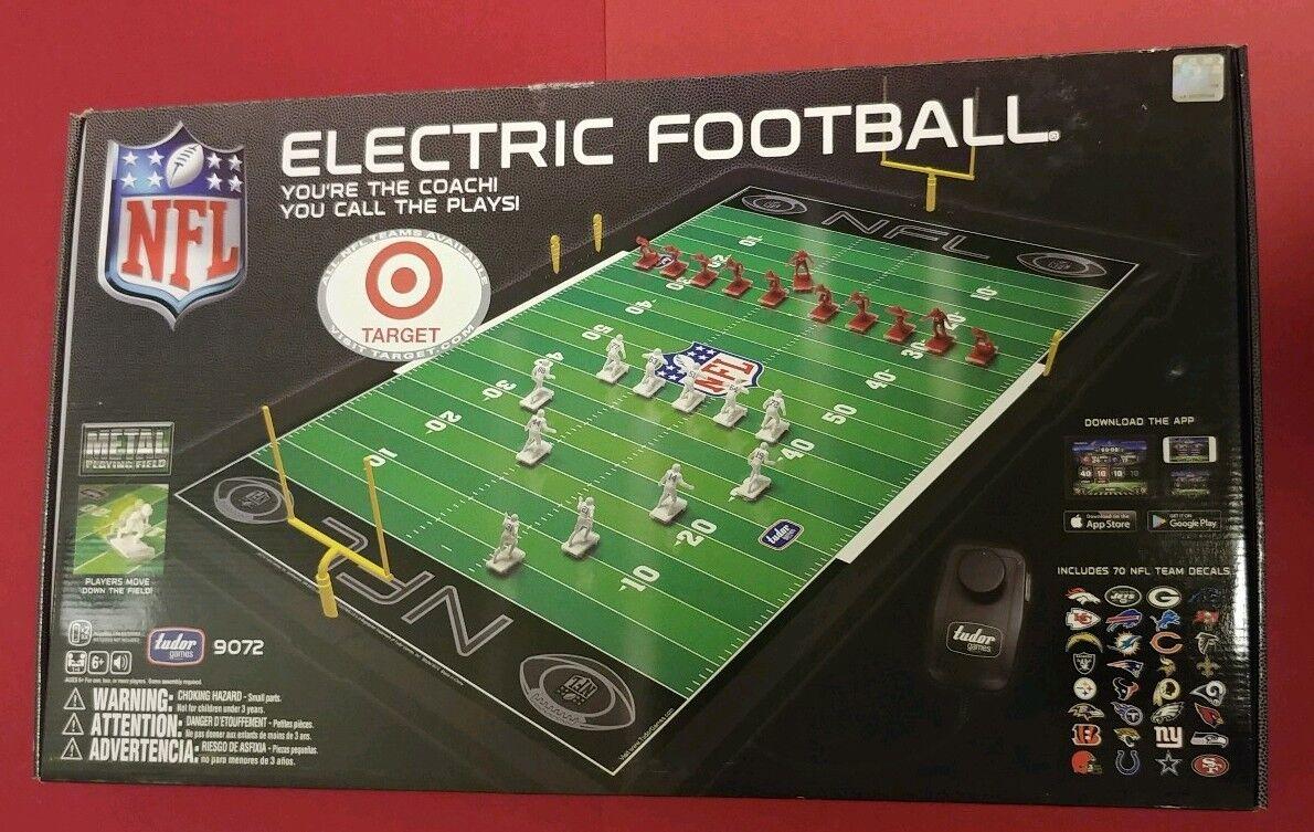TUDOR 9072 NFL ELECTRIC FOOTBALL 2017 NEW UNOPENED BOX