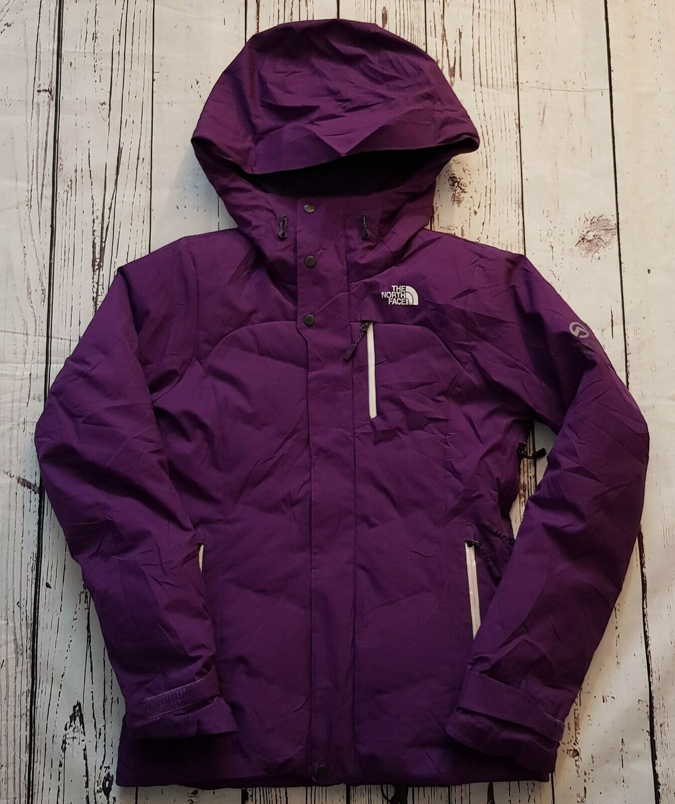 Womens The North Face Summit Series Purple Recco Down Jacket Size XS Excellent