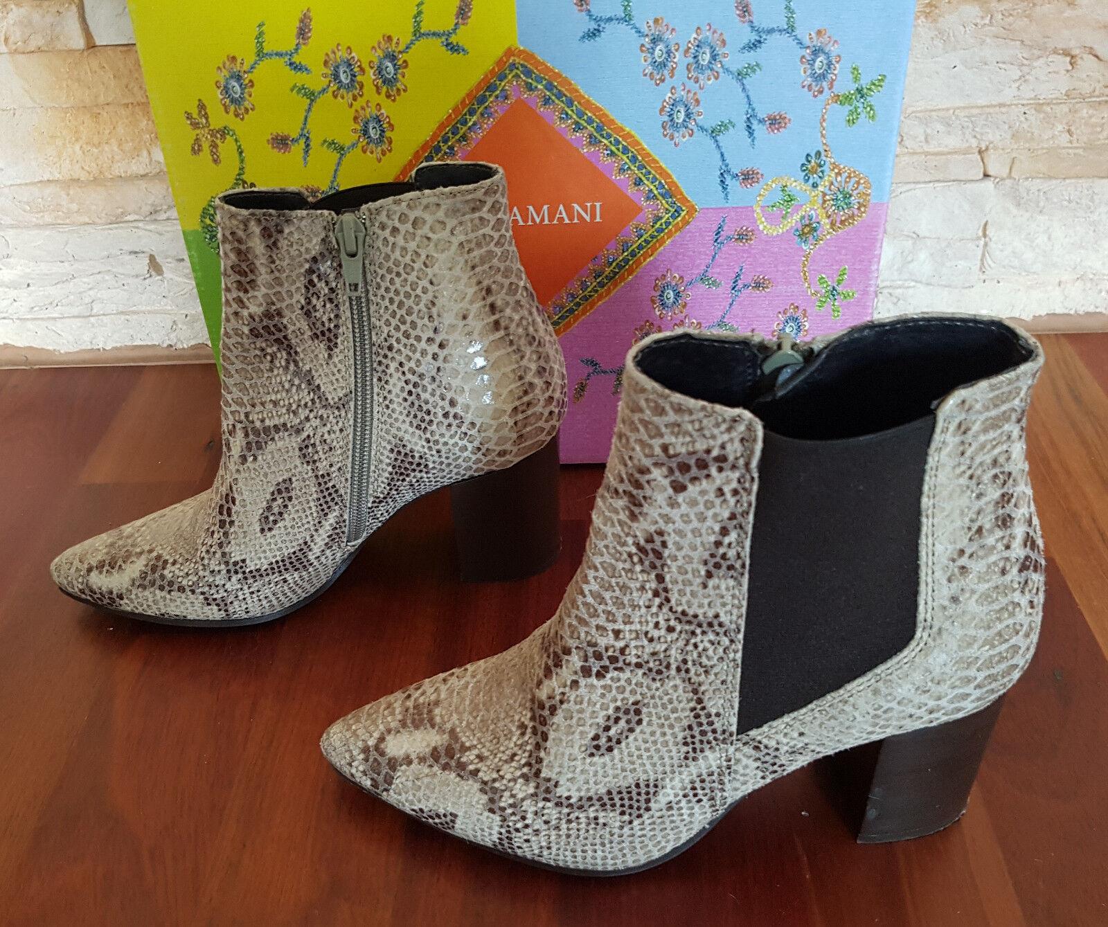 Lazamani 57.234 Schuhe Damenschuhe Stiefel Stiefeletten Leder Grösse 36