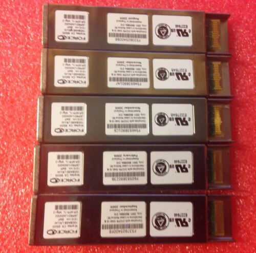 FORCE10 DELL 10Gb GP-XFP-1L 10G-XFP-LR 10Gbase-LR//LW 1310nm XFP FTRX-1411D3-FC