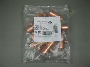 10-Piece-Elkhart-EPC-111R-1-034-x1-034-x1-2-034-Wrot-Copper-Sweat-Reducing-Pipe-Tees-Lot