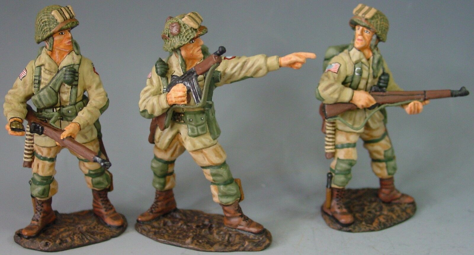 King & Country D Day 1944 DD021 U.S.82ND Airborne in Aktion MIB