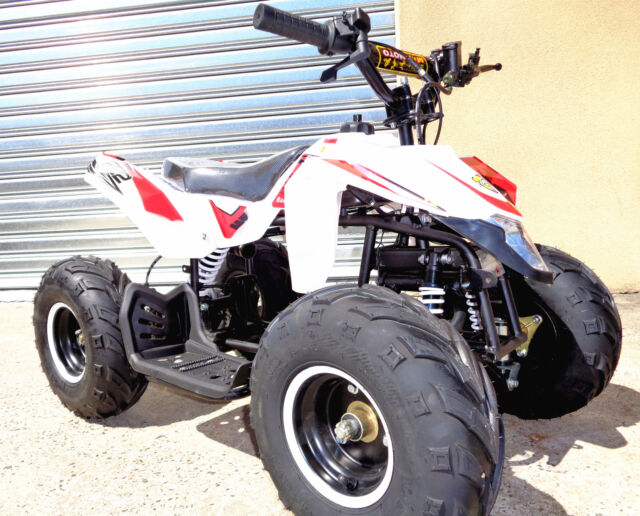 50CC KATO 2STROKE 9HP KICK START KTM REPLICA MOTOR QUAD BIKE ATV 4 WHEELER