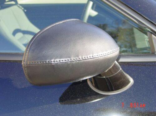 Colgan Car Mirror Covers Bra Protector Black Fits 2008-2016 DODGE Challenger