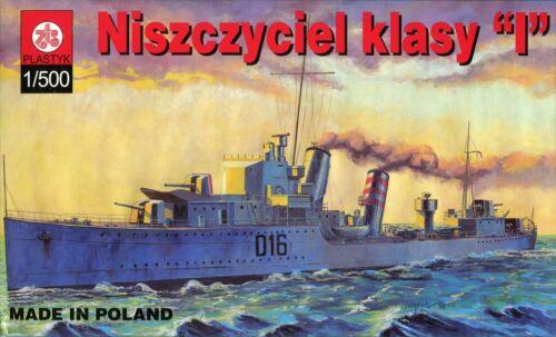 "Royal Navy I-Class Zerstörer HMS /""Ivanhoe/"" # Maßstab 1:500 #  ZTS  PLASTYK S-015"