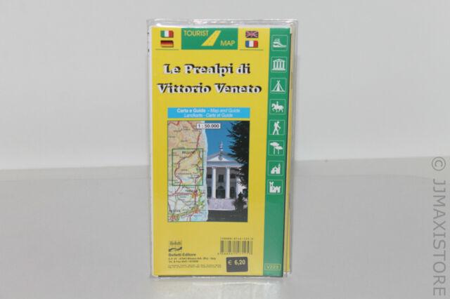 LE PREALPI DI VITTORIO VENETO CARTA E GUIDA (CARTINA/MAPPA) 9788881461257