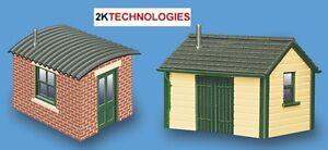 Modelscene 5185 - 2 x Lineside Huts 'N' Gauge Plastic Kit - 1st Class Post