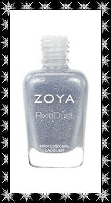 Zoya *~Nyx~* Nail Polish Lacquer 2013 PixieDust Matte Sparkle Discontinued!
