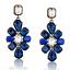 Elegant-Women-Rhinestone-Resin-Flower-Ear-Stud-Eardrop-Dangle-Earring-Jewelry thumbnail 7