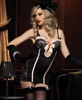 Underwire Garter Dress With Corset Back - Leg Avenue 86346