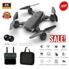 E68 RC Drone 4K HD Wide Angle Camera Wifi 1080p FPV Live foldable Quadcopter UK