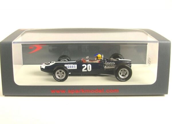 BRM p261 No. 20 British GP 1967 (David Hobbs)