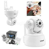 IP Cam web camera HD 720P Wifi Wireless Audio with Pan Tilt Security CCTV White